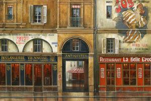 Булочна в Парижі «Віденська пекарня» • «Boulangerie Viennoise»