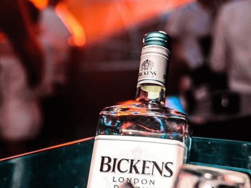 Кришталево чистий Bickens London Dry Gin