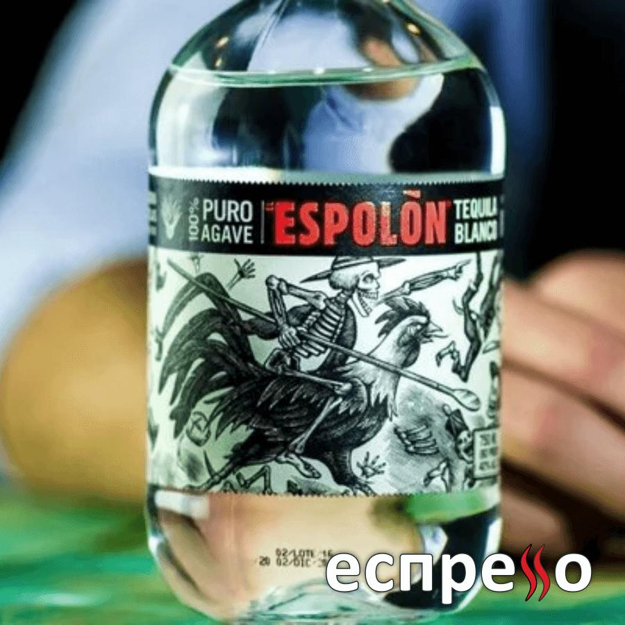 Tequila Espolon Blanco з блакитної агави