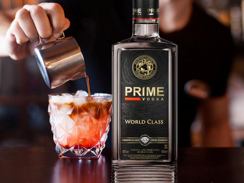 Горілка «Prime» World Class