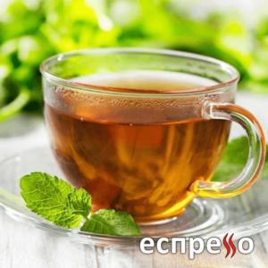 Чай зелений, чорний, фруктовий, трав'яний.